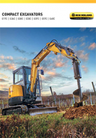 compact excavators pdf new holland construction