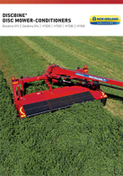 discbine h7000 side pull disc mower conditioner pdf new holland agriculture