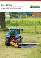duradisc heavy duty disc mowers pdf new holland agriculture