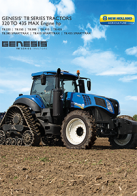 genegis t8 series tier 4b pdf new holland agriculture