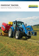 powerstar tractors pdf new holland agriculture