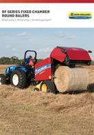 rf series round baler pdf new holland agriculture