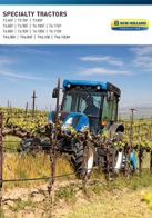 specialty tractor pdf new holland agriculture