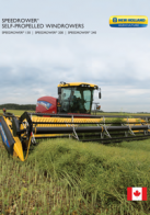 speedrower series sp windrowers pdf new holland agriculture