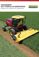 speedrower sp windrowers tier 4b pdf new holland agriculture